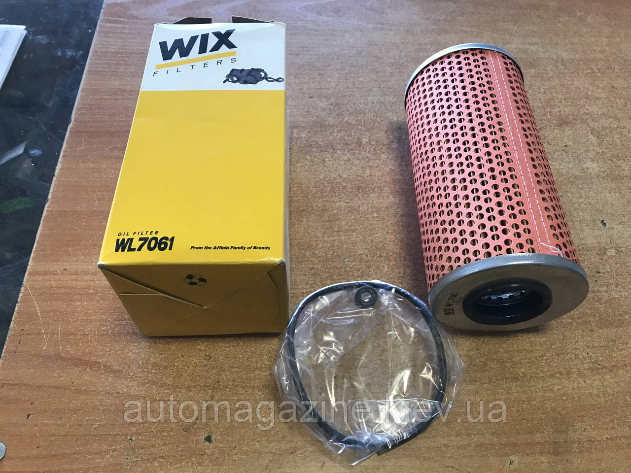 Фільтр масляний WL 7061 (OX123/1D)