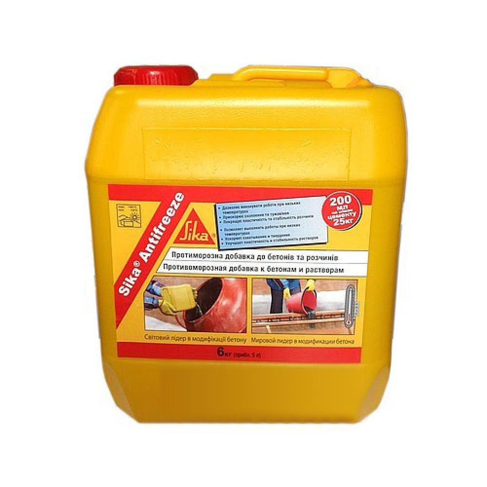 Комплексна добавка для бетонування Sika Antifreeze 6 кг