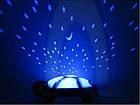 "[ОПТ] Іграшка-проектор ""Музична "" черепаха"". Нічник-проектор зоряного неба, фото 8"