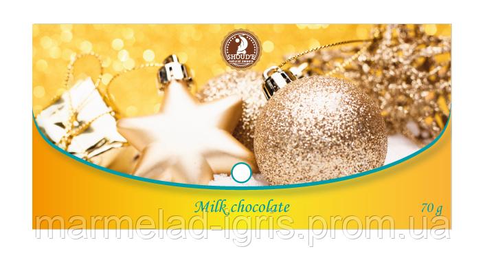 Шоколад молочный подарочный