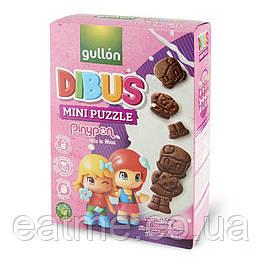Gullon Dibus mini puzzle Печенье без лактозы и молочных белков, орехов и яиц