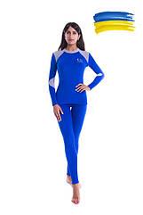 Комплект женского термобелья C D Coral woman синий. Термобелье женское Coral fleece
