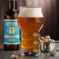 Паб бокал для пива низкий с волнистой ножкой 0,43 мл