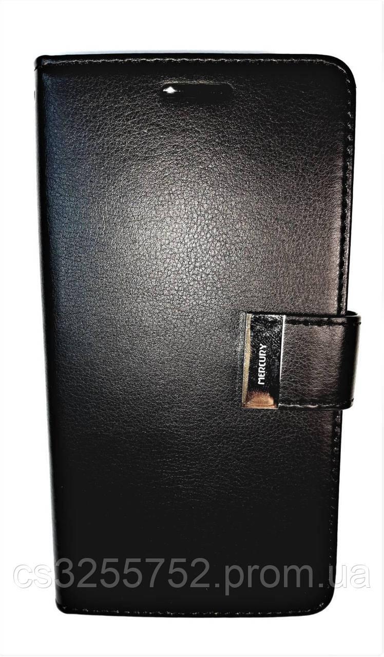 Книжка Goospery Rich Diary Wallet Case Samsung A320 Black