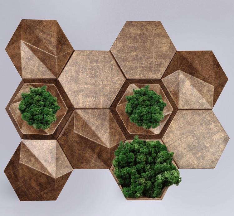 3D панели с мхом - Gipster Green Premium