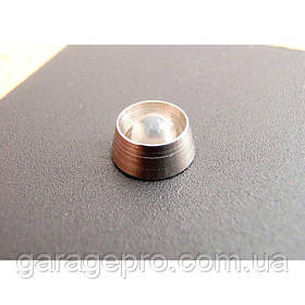 Светодиод красный 12V в металлическом корпусе
