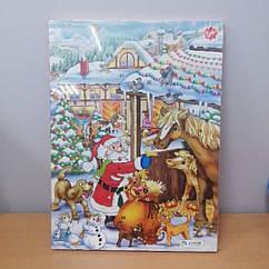 Рождественский шоколадный календарь (Adventskalender), 75г