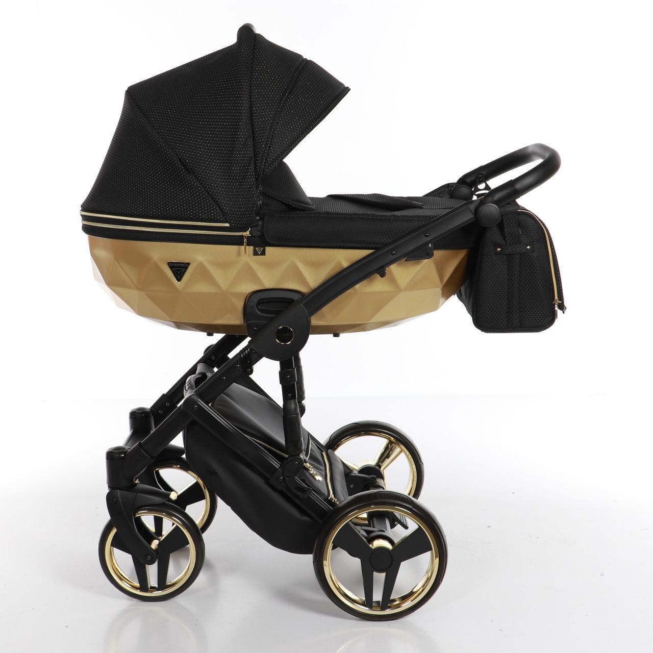 Детская универсальная коляска 2 в 1 Junama Mirror Satin 03