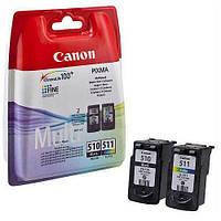 Струменевий картридж Canon PG-510+CL-511 MULTIPACK (2970B010), iP2702, MP230, MP240, MP250, MP252