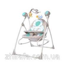 Колиска-гойдалка шезлонг CARRELLO Nanny 3в1 CRL-0005 Azure Beige