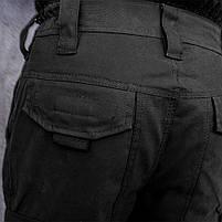 Брюки тактические (ANTITERROR) Black, фото 4