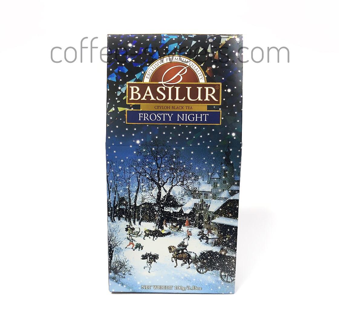 """Чай черный Basilur """"Frosty Night"""" 100g"""