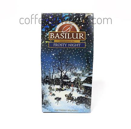 """Чай черный Basilur """"Frosty Night"""" 100g, фото 2"""