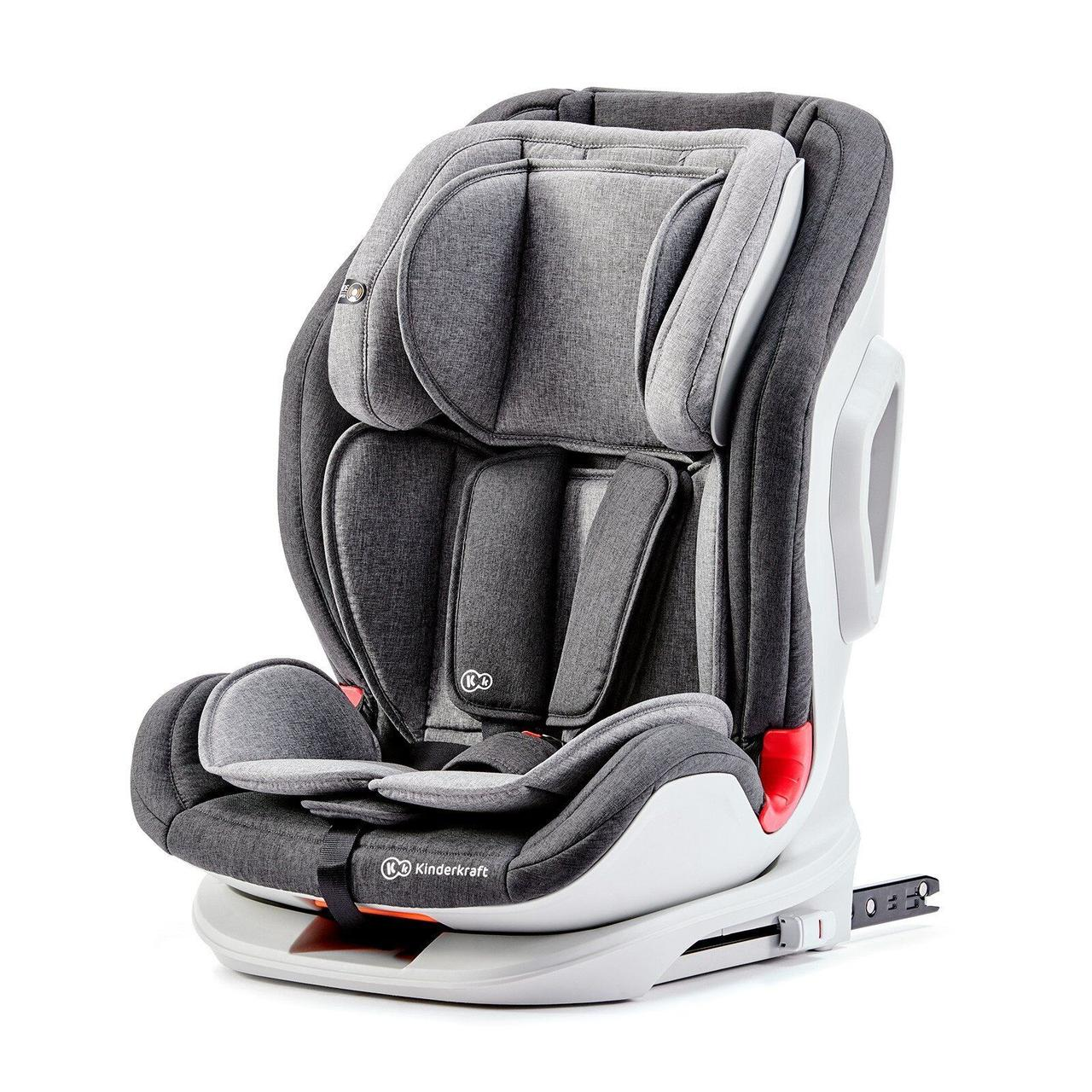 Автокресло Kinderkraft Oneto3 Black/Gray