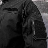 Китель тактический (ANTITERROR) Black // Размер 44-46, фото 4