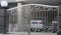 Полировка ворот из нержавеющей стали