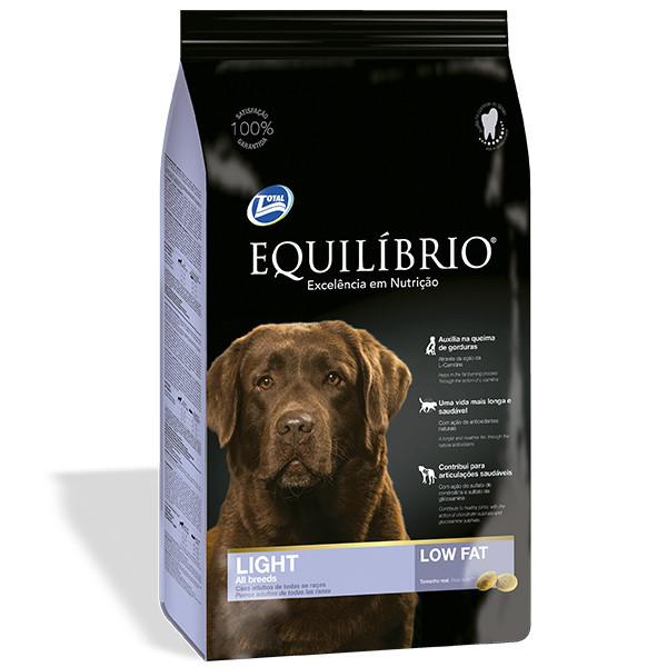 Сухой корм для собак, склонных к полноте Equilibrio Dog Light 15 кг