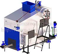 Паровой котел Е-0,7-0,9Р для работы на биотопливе