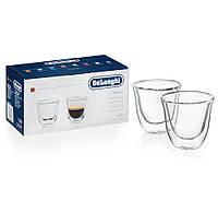 Набор стаканов Delonghi ESPRESSO (эспрессо) (2 шт) 60 ML