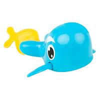 Заводная игрушка для купания Морской путешественник Кит (укр. упаковка) BeBeLino 57079, фото 1