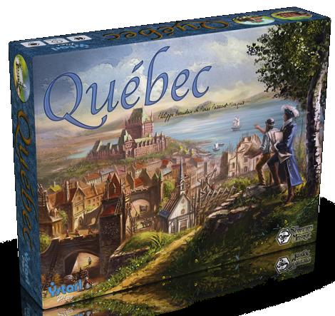 Настольная игра Québec (Квебек, Quebec)