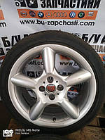 Б/у диск с шиной R17 4*100