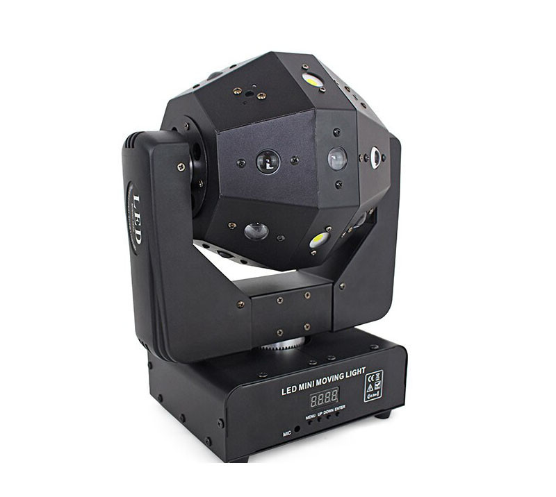 Диско шар Moving head 3в1 с лазером и стробоскопом
