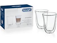 Набор стаканов для латте Delonghi Latte Macchiato 220 мл  (2 шт.)