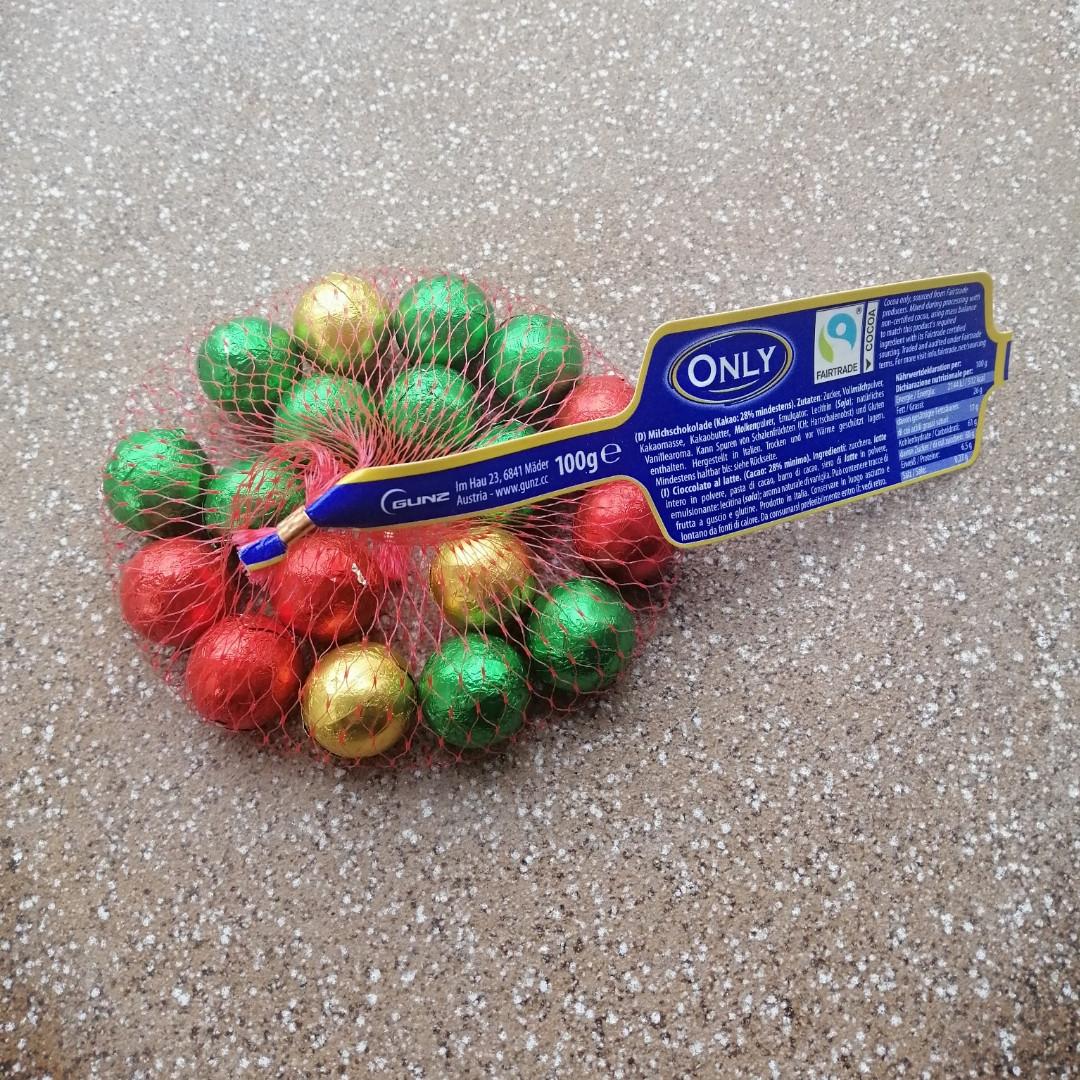 Шоколадные шарики Only, 100г
