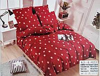 Турецкое двуспальное постельное белье из сатина 180*220