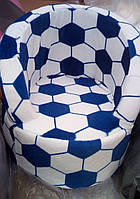 Детское мягкое кресло Футбол Мяч.