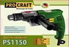 Дрель PROCRAFT PS-1150 (2800 об/мин) без ударная