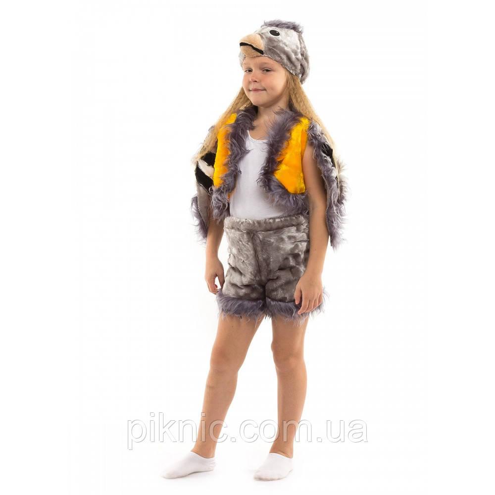 Костюм Синичка для детей 3-6 лет. Детский новогодний карнавальный костюм Синица 342