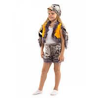 Карнавальный костюм Синичка для детей 3-6 лет. Детский новогодний маскарадный Синица