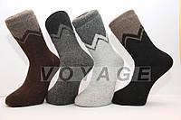 Мужские носки шерстяные высокие с махрой Кардешлер комбинирование, фото 1
