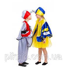 Костюм Снегирь 4,5,6,7,8 лет Детский новогодний карнавальный костюм для мальчиков 342, фото 3