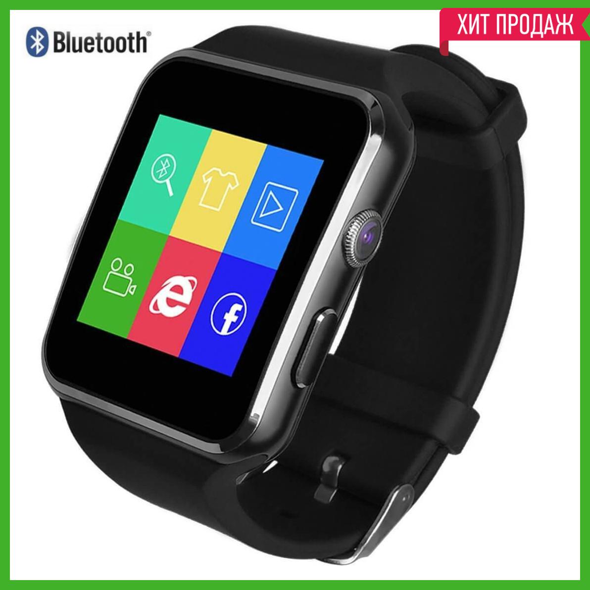 Смарт часы Smart Watch X6 черные original Часофон