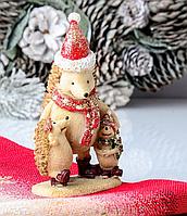 Статуэтка Новогодние ежики 192-024