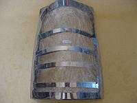 Mercedes Vito W638 1996-2003 гг. Накладки на стопы (2 шт, нерж.)