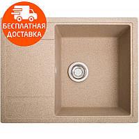 Кухонная мойка гранитная Galati Jorum 65 Piesok (301) 10495 песочный