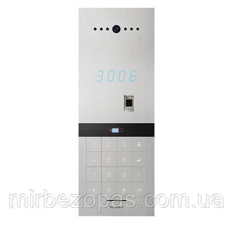 Вызывная видеопанель Slinex Sitara (silver) для IP-домофонов, фото 2