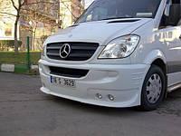 Mercedes Sprinter 2006-2018 гг. Передний бампер 4 фары (2006-2013)