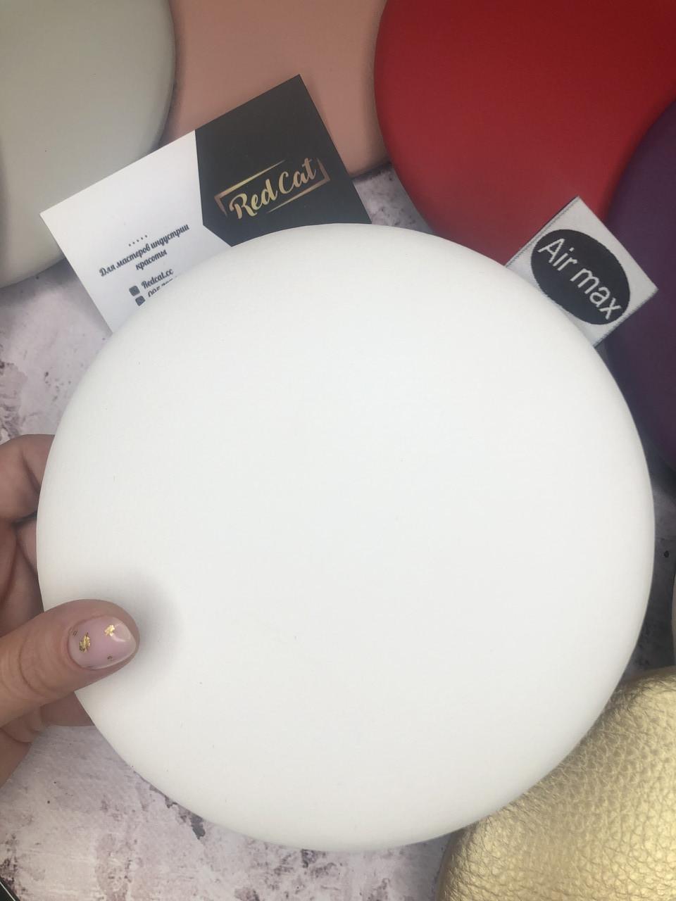 Защитный подлокотник для мастера маникюра,цвет белый