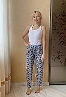 Штаны пижамные флисовые, фото 1