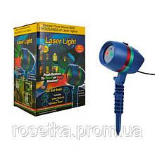 Новогодний лазерный проектор Star Shower Laser Light Motion (Стар Шоувер Лазер), для освещения на улице и доме