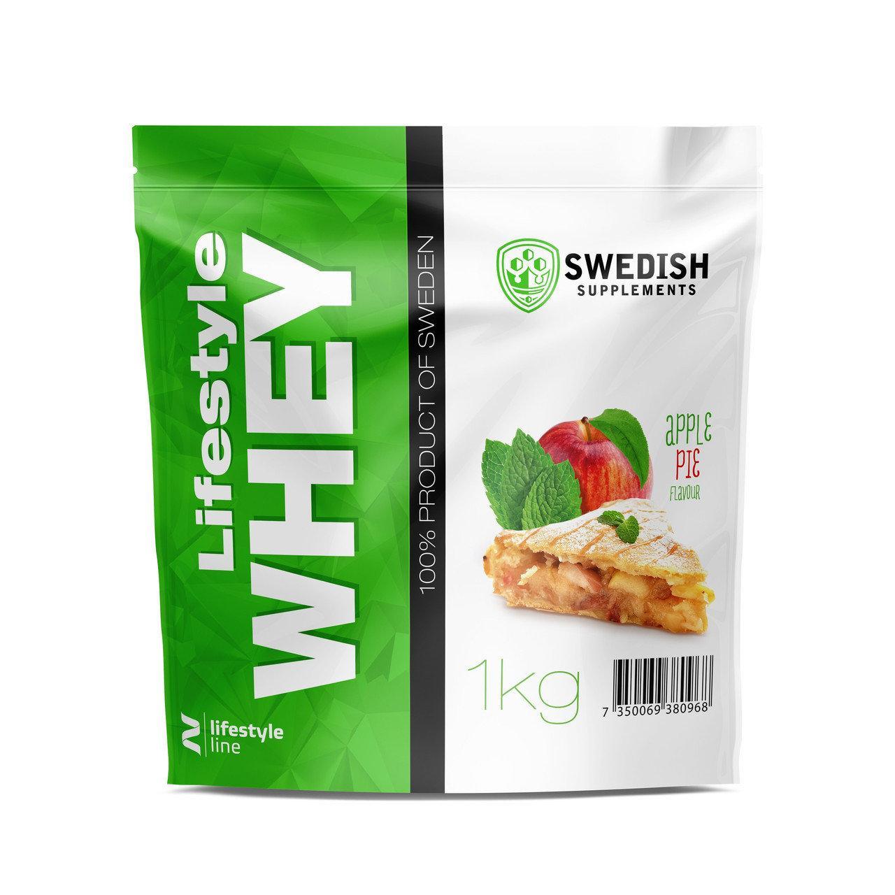 Сывороточный протеин Swedish LifeStyle Whey 1 kg