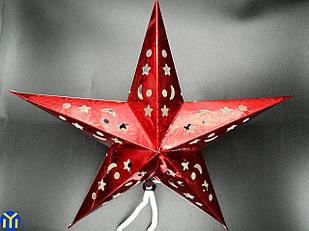 Звезда Красная, Декор 30см.