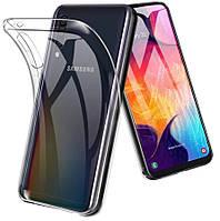 Прозрачный силиконовый чехол для Samsung Galaxy A30s 2019 A307
