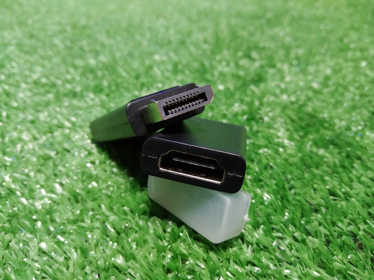 Display Port - HDMI переходник со звуком