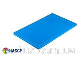 Доска разделочная голубая 500х325х15 мм Stalgast 341534